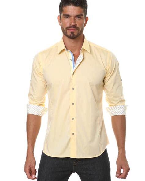 15 Yellow Dress Shirt Outfit Ideas for Men