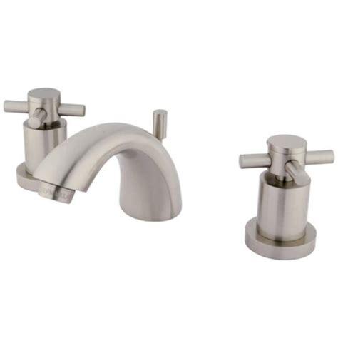 kingston brass ks2958dx concord mini widespread lavatory