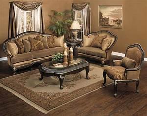 Plushemisphere Elegant Traditional Sofa Sets