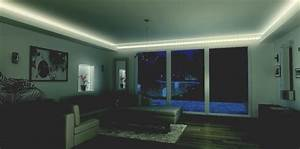bandeau led salle de bain perfect reglette lumineuse With carrelage adhesif salle de bain avec kit ruban led rgbw