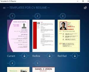 free windows 10 resume builder app with preset resume cv With resume builder app for windows