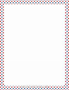 Red White And Blue Border Clip Art (39+)