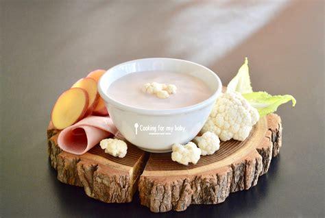 cuisiner le chou cuit recette de velouté de chou fleur et crème jambon kiri pour