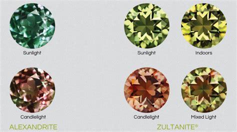 color changing gemstones color chameleon 187 zultanite 174 gems