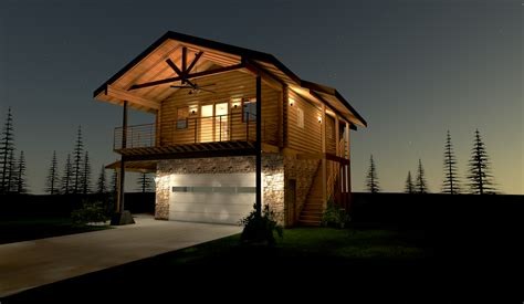 log home floor plans with garage pines log home custom timber log homes