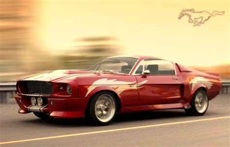 Classic Car Information: 1967 Shelby Mustang GT500-The