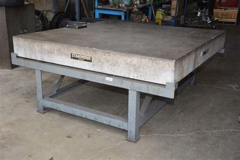72x72 standridge granite inspection table surface plate