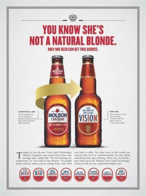 molson 2003 beer ads coors sexist 1950s since wine vinepair little