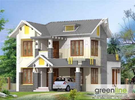 Design House Model by Kerala House Model At 1650 Sq Ft