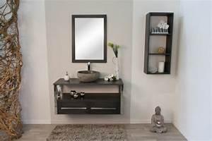 meubles de salle de bain 15 exemples de confort sophistique With salle de bain design avec arbre décoratif jardin