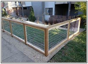 Wire mesh panels home depot images fences to build for Dog run fence home depot