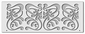 Jugendstil Florale Ornamente : jugendstil wandschablonen stilsicher bei schablono finden ~ Orissabook.com Haus und Dekorationen