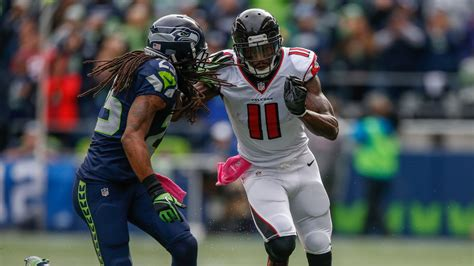 falcons  seahawks divisional  game time tv