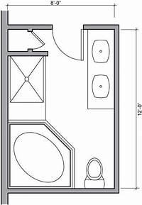 bathroom floor plan Master Bathroom Floor Plans | Bathroom Floor Plans - Bathroom Floor Plan Design Gallery ...
