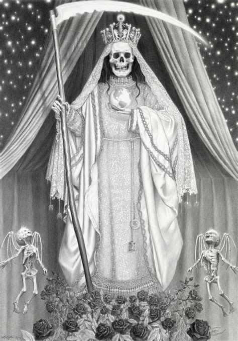 Santa Muerte Images Selling Holy From Grim Reaper To Skeletal