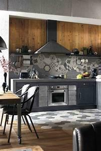 Cuisine Style Industriel Bois : les cuisines brera 76 et lab 40 pour les 40 ans de marchi ~ Teatrodelosmanantiales.com Idées de Décoration