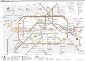Berlin Bvg Plan : berlin s two transit agencies appear on a single subway map ~ Orissabook.com Haus und Dekorationen