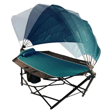 Mobile Hammock by Kijaro Portable Hammock With Canopy And Cooler The