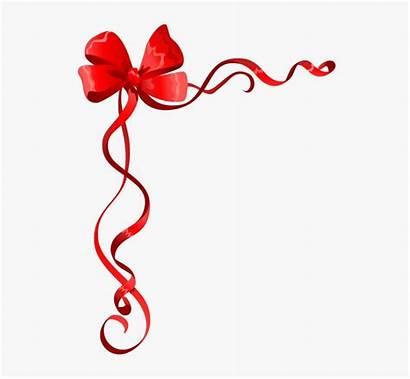 Ribbon Border Christmas Clipart Frames Printable Designs