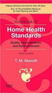 Handbook of home health standards quality documentation for Handbook of home health standards quality documentation and reimbursement