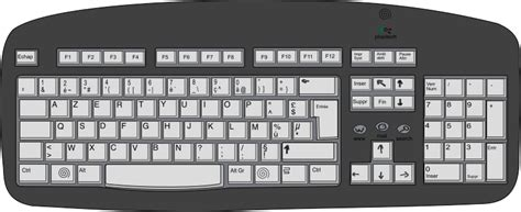 Pc Keyboard Clipart