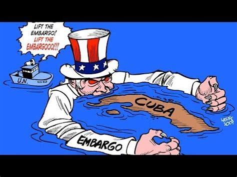 blasts  embargo  cuba youtube