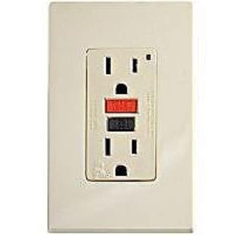 leviton 801 06599 i gfci 125v 15a outlet receptacle qty 4