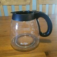 This is the water window, you can see how much water is in the reservoir. Mr Coffee BVMC-ECX41CP 12-cup Coffee Maker Replacement Part Carafe with Lid | eBay