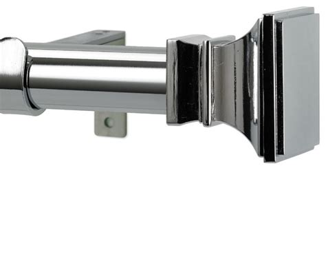 versailles non telescoping curtain rod with metro rings