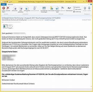 Rechnung Von Flexpayment : unbeglichene rechnung 3 august 2017 buchungsnummer 47152810 von stellvertretender rechtsanwalt ~ Themetempest.com Abrechnung