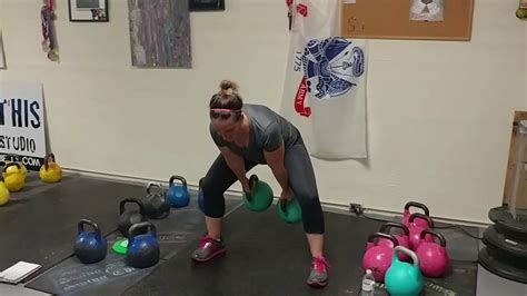 kettlebell training weight swings