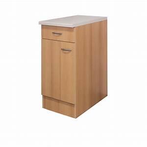 Küchen Unterschrank Günstig : k chen unterschrank nano 1 t rig 40 cm breit buche k che unterschr nke ~ Frokenaadalensverden.com Haus und Dekorationen