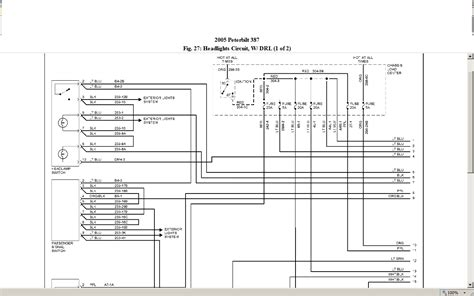 2004 Peterbilt Wiring Schematic For A 335 by I A 2005 387 Peterbilt With No High Beam And No