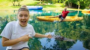 MONSTER IN POND PRANK ON STEPHEN SHARER!! - YouTube