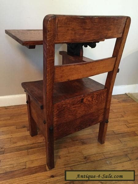 old fashioned desks for sale rare child 39 s antique desk chair wood metal mission