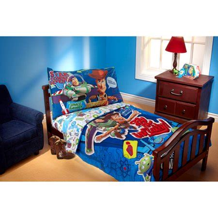 Story Toddler Bed Set by Disney Story Fly To Infinity 4 Toddler Bedding
