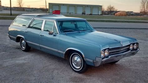 Station Wagon For Sale by One Owner Gem 1965 Olds Vista Cruiser Wagon