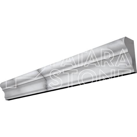 carrara white polished chair rail 2x12 patara