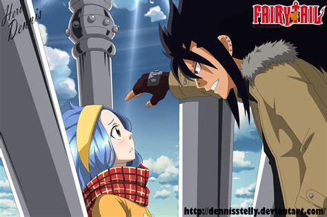 fairy tail anime gajeel fairy tail gajeel and levy chapter 471 by dennisstelly