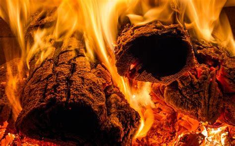 flamme le feu le bois la chaleur hd fonds decran
