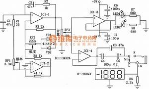Stereo Headphone Frequency Response Tester Circuit