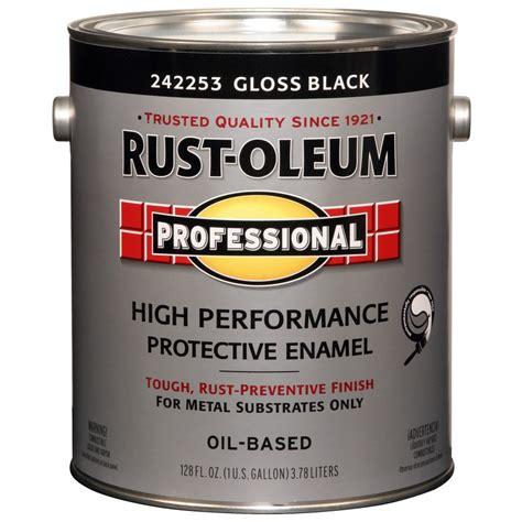 Shop Rustoleum Professional Blackgloss Enamel Interior