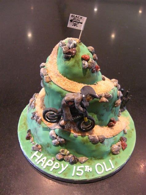 downhill mountain biking cake sarah bates cakes