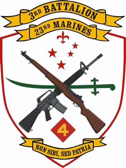 Battalion Marines 3rd Marine 23rd Regiment Usmcr