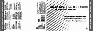 Maglite Magcharger Led Rechargeable System User Manual