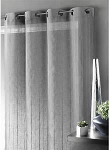 Rideau Gris Et Blanc : rideaux homemaison sp cialiste rideaux voilages ~ Dailycaller-alerts.com Idées de Décoration
