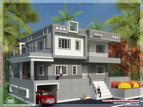 Indian Modern Bungalow Exterior