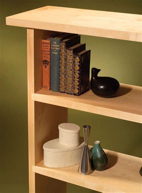 dovetailed bookcase popular woodworking magazine