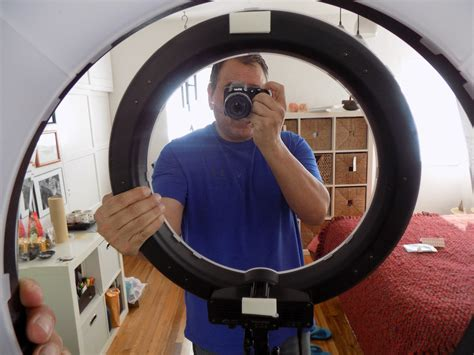 add a ring light to any mirror mywholewall