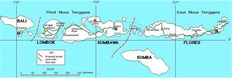 lesser sunda nusa tenggara provinces archi pelago fastfact